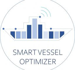Smart_Vessel_Optimizer_TechBinder_BV_logo_Data_Driven_Fleet_Optimization_icons_logo